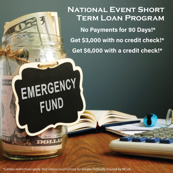 National Event Short Term Loan Program. Click for more details.