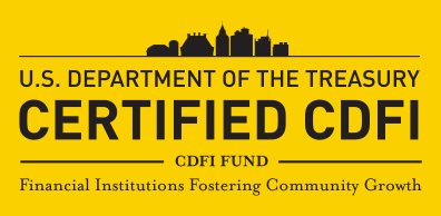 U.S. Department of the Treasury Certified CDFI. CDFI Fund. Financial Institutions Fostering Community Growth